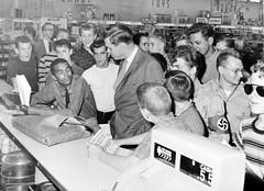 Bravery at Arlington Virginia Lunch Counter: 1960