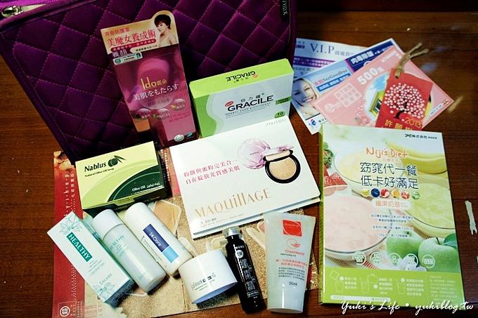 [體驗]*AmazingBox(AZBOX)魅影盒子 ‧2013年1月號美妝生活盒子內容