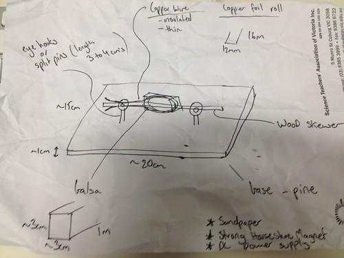 DC Motor Sketch