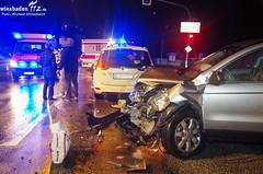 Unfall an Ampel B455 Bierstadt 14.12.2012