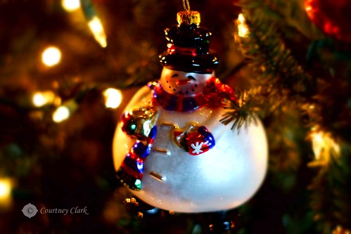 "8. ""Ornament"" Fat Snowman by courtneyec90"