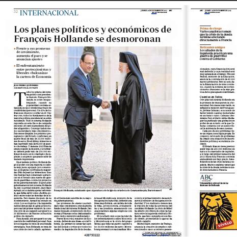 12l13 Los planes pol y eco de Hollande se desmoronan