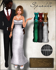 SYSY's- Sparkle Gown  - My Attic @ The Deck