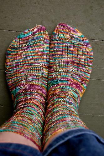 Block of Gnomes socks