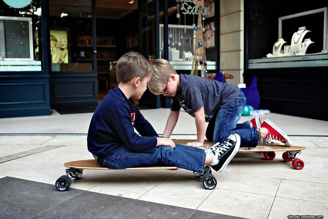Little Skateboarders