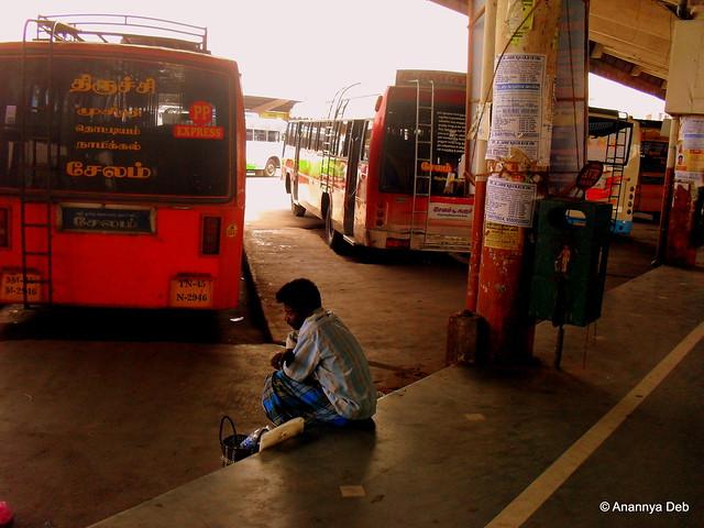Salem Bus Stand, September 2010