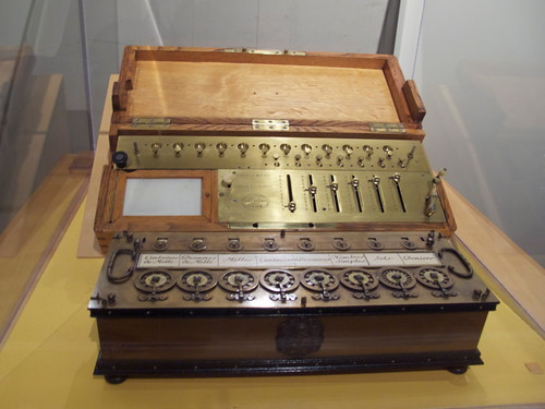 Rare French 17th Century Quot Pocket Quot Calculator Set For