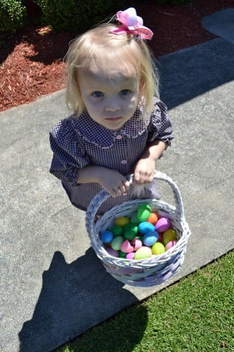 A at easter