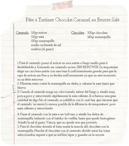 receta choco&caramelo