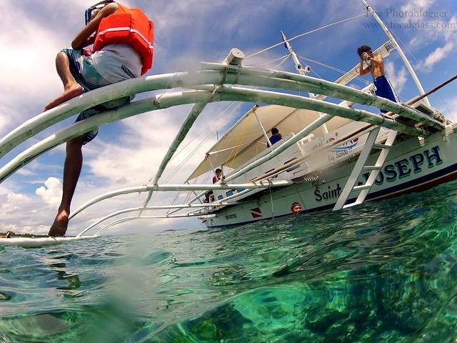 Island hopping Boat