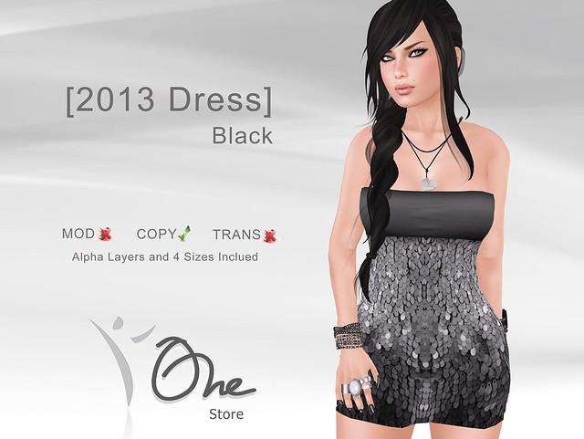 [2013 Dress] Black