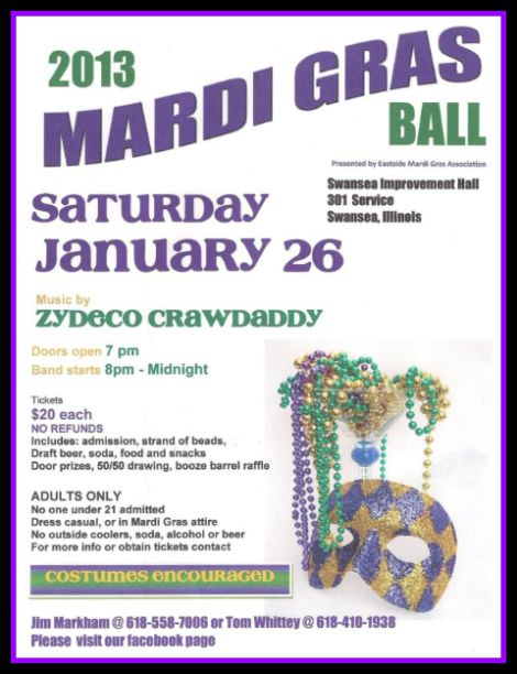 East Side Mardi Gras 1-26-13