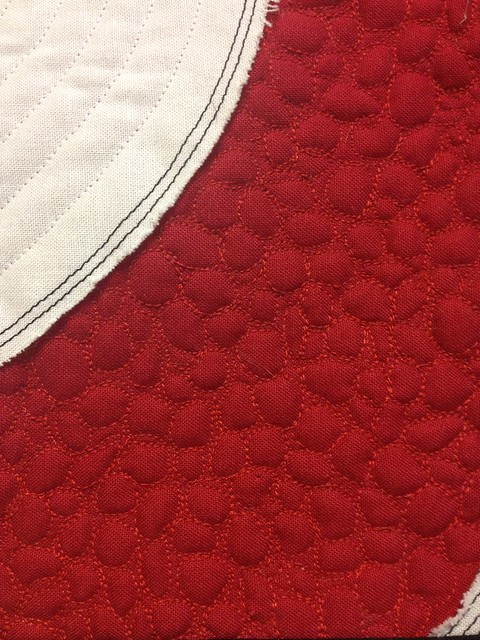 Target Quilting Pebble Close Up