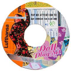 Ray Johnson Fan Club sticker #8