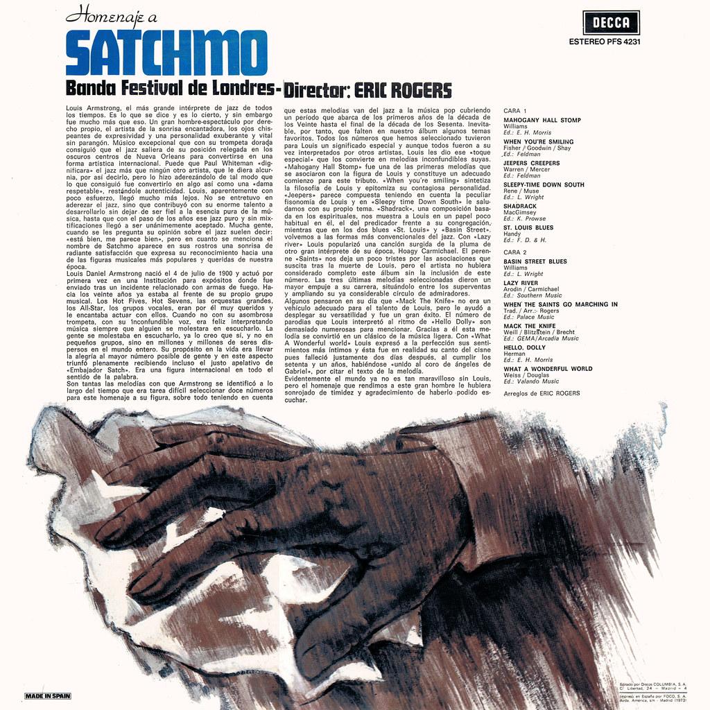 Eric Rogers - Homenaje a Satchmo