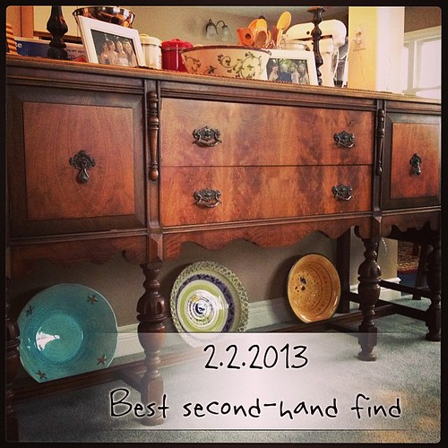 Feb 2 - best second-hand find {I know I am re-posting this, but it IS my best find!} #photoaday