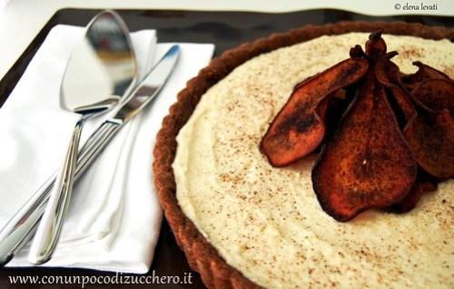 Tarte di pere e cioccolato 2