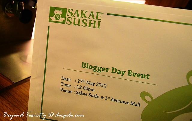 May 2012 Sakae Sushi