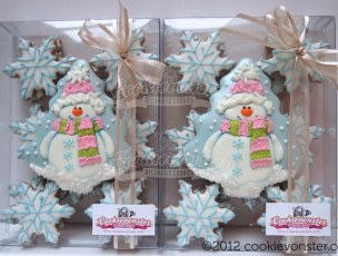 Frosty Gift Set ©Cookievonster2012