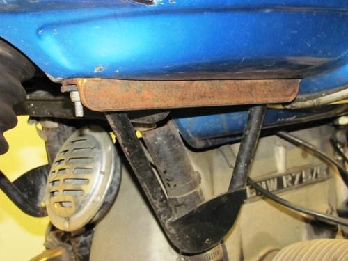 .Rebuilt Vetter fairing bracket