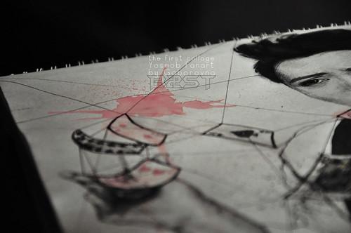 the jolly joker (yoseob fanart) - close-ups