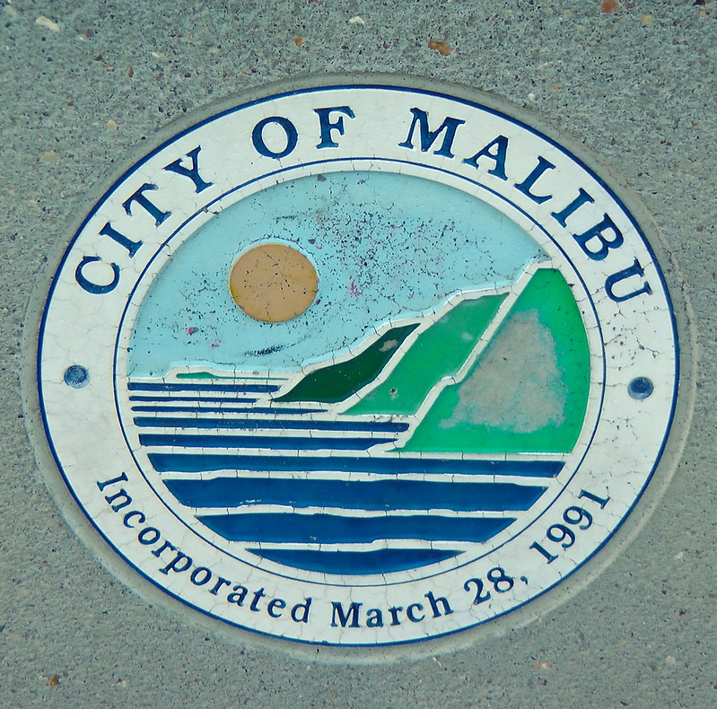 I'm at the pier in Malibu