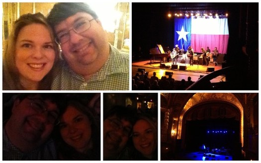 At the Willie Nelson Concert