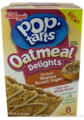 Kellogg's Oatmeal Delights Frosted Mapley Brown Sugar Pop-Tarts