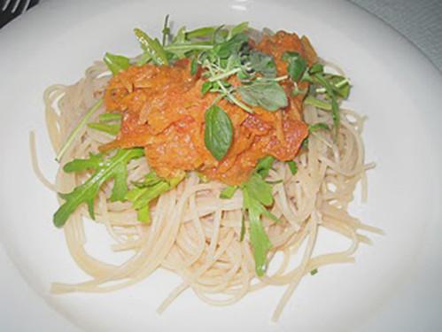 pasta med rotfruktssås by abris2009