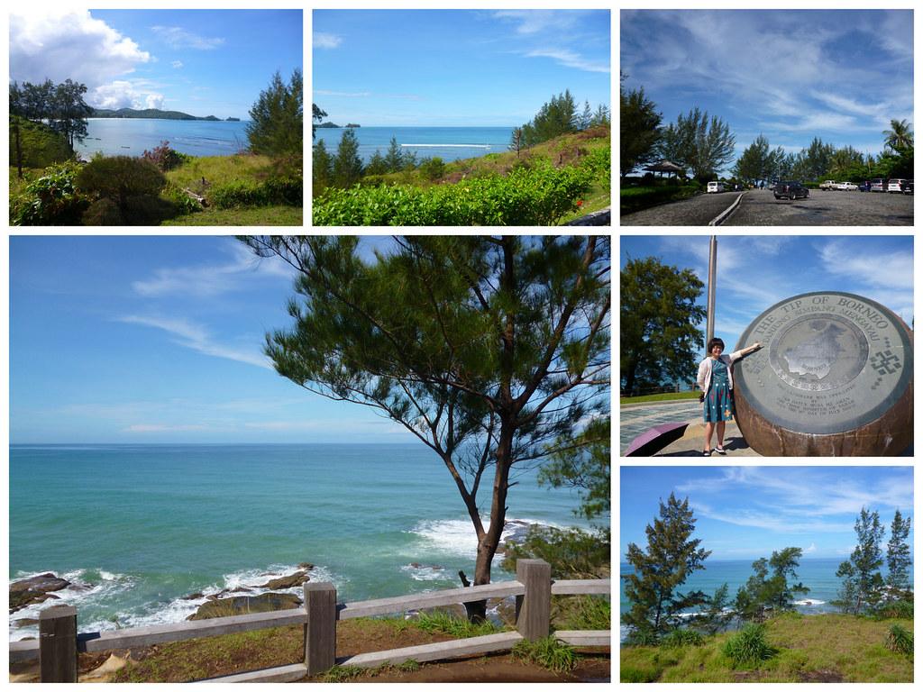 Coastline of Tip of Borneo
