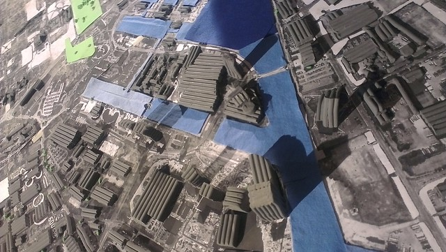 Salford Quays remapped