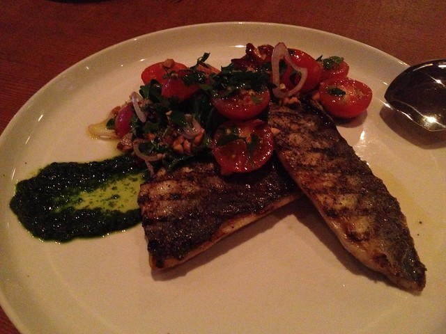 Grilled mackerel - Staple & Fancy