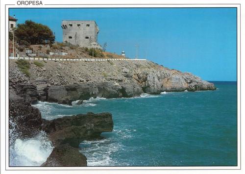 Acantilados y torre del rey. Aprox 1988