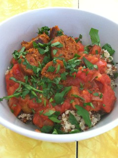 Jambalaya sauce with quinoa
