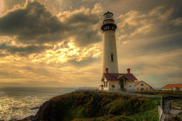 A Special Light - Pigeon Point - 2012