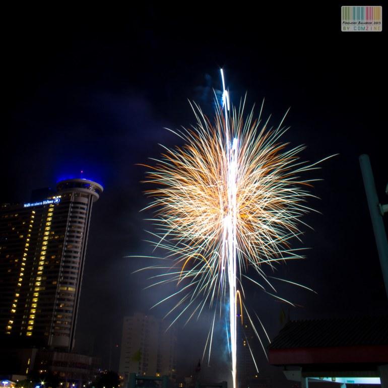 Firework 2013 Taksin,bangkok