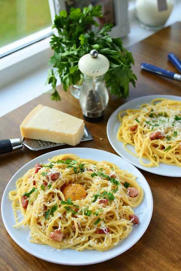 The Real Spaghetti Carbonara
