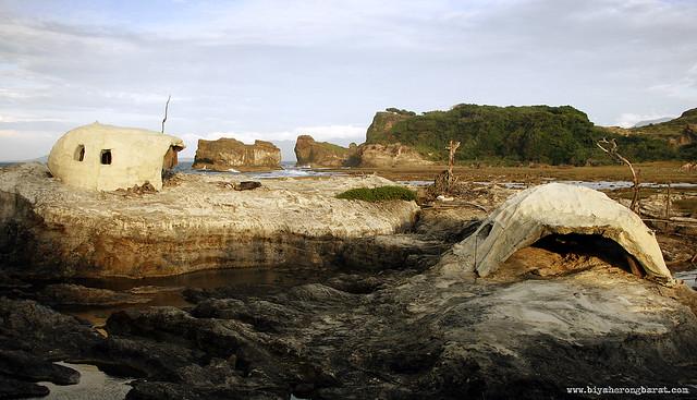 Kapurpurawan Rock Formations in burgos Ilocos Norte