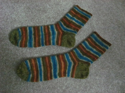 dad's finished xmas socks!