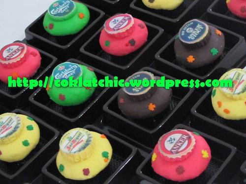 Minicupcake Tutup Botol Anker Beer Produk