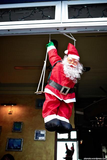 The Hanging Santa