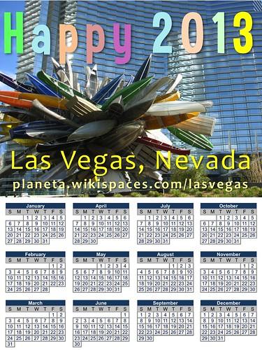 Happy 2013: Las Vegas #Nevada @LasVegasSign @ClarkCountyNV @Nevada_Magazine @NevadaPR @TravelNevada