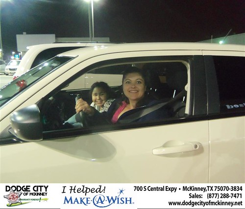 CONGRATULATIONS TO LYDIA BYONE ON THE 2008 CHRYSLER 300 by Dodge City McKinney Texas