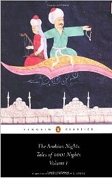 have books, will travel: The Arabian Nights Tales from a Thousand and One Nights