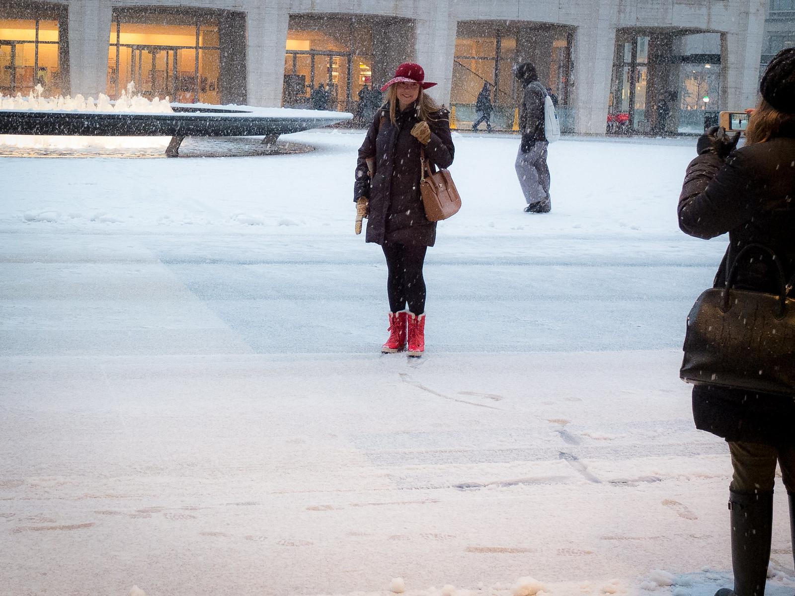 Red Had, Snowfall by wwward0