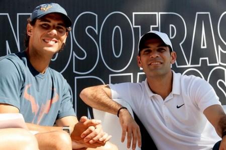 Rafa Nadal y Rafael Marques #NosotrasCorremos