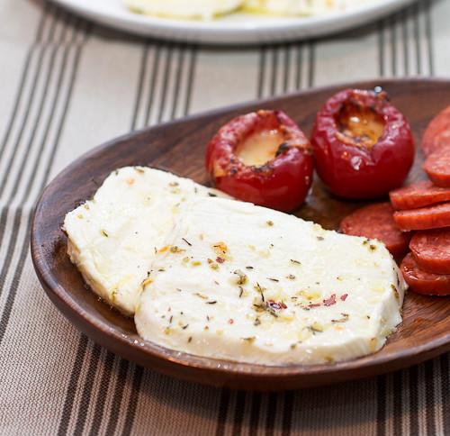 DIY- Marinated Fresh Mozzarella