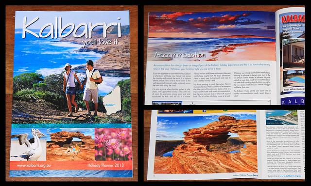 2 of my best images used in a tourism brochure (right hand side)