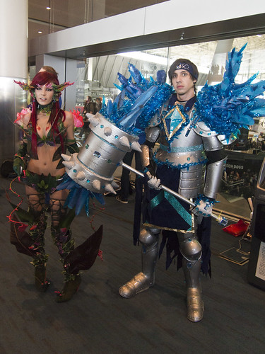 Cosplayers in Main Hall