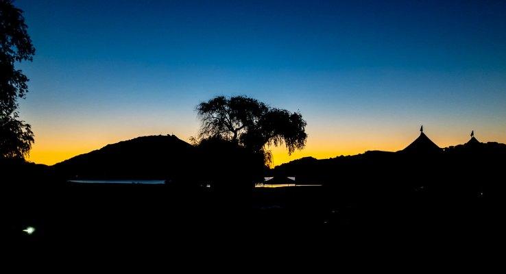Early morning at Stafford Lake